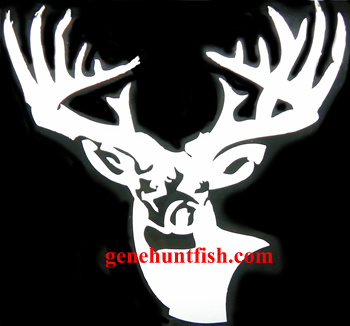 GHF.com Deer Logo Decal-4