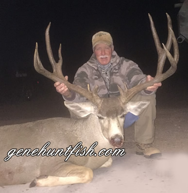John and His Mule Deer