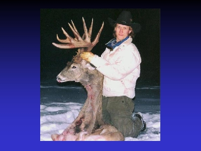 Geno And Big Whitetail Buck