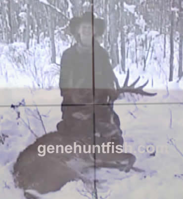 Geno and World Class Whitetail Buck