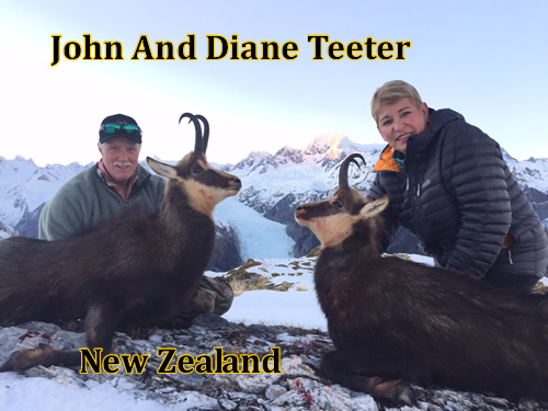 John and Diane In New Zealand