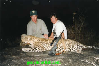 John And His Leopard