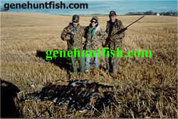 Geno and Bird Hunters