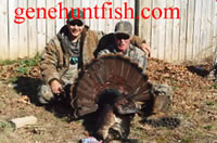 John and Geno out Turkey Hunting