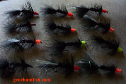 Geno steelhead flies