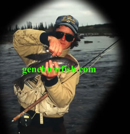 Geno and Trophy Arctic Grayling