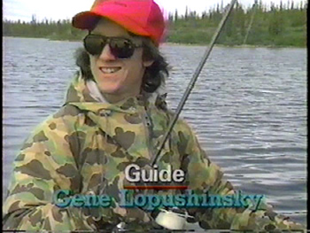 Geno and Lake Trout