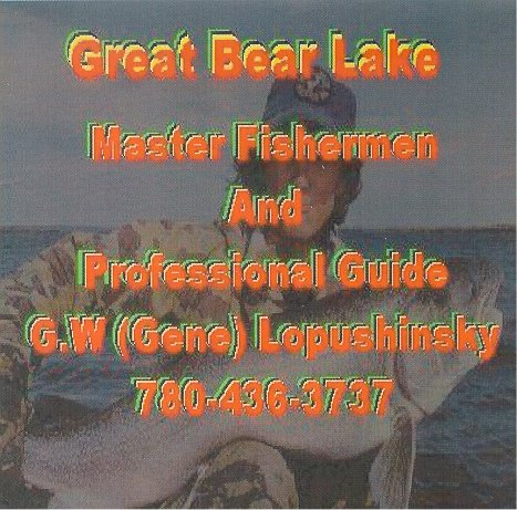 Great Bear Lake Book