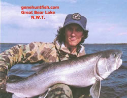 Geno and Trophy Lake Trout