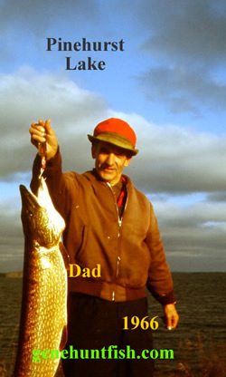 Dad and His Trophy Pike