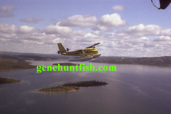 Float Plane Leaving GBL