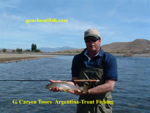 Gerald Trout Fishing