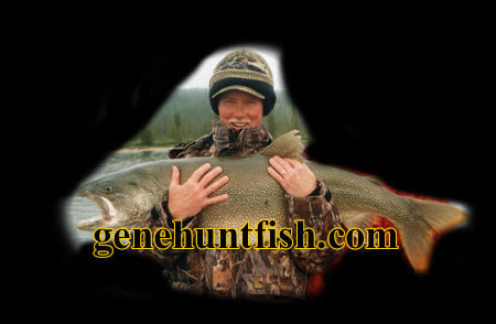 John and Lake Trout