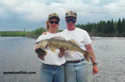 John and Geno walleye