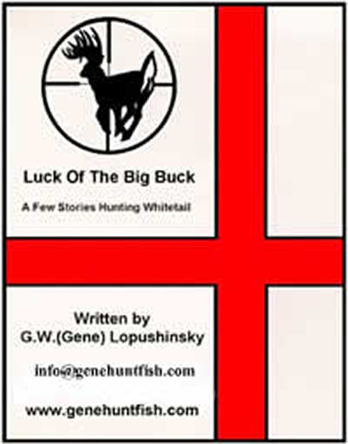 Luck of the big buck book for sale