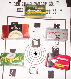 Geno and Targets for .22