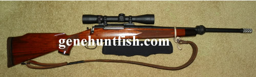 375 H and H Remington Rifle For Sale